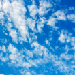 Sky with beautiful clouds — Stock Photo