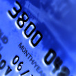 Close-up a credit card — Stock Photo #1149099