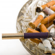 Ashtray full of cigarettes — Stock Photo #1149163
