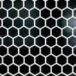 Royalty-Free Stock Photo: Bee hexagon texture