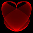 Red heart — Stock Photo #1149404