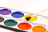 Water paints set — Stock Photo