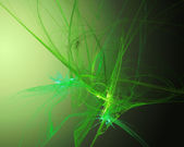 Fractal green background — Stock Photo