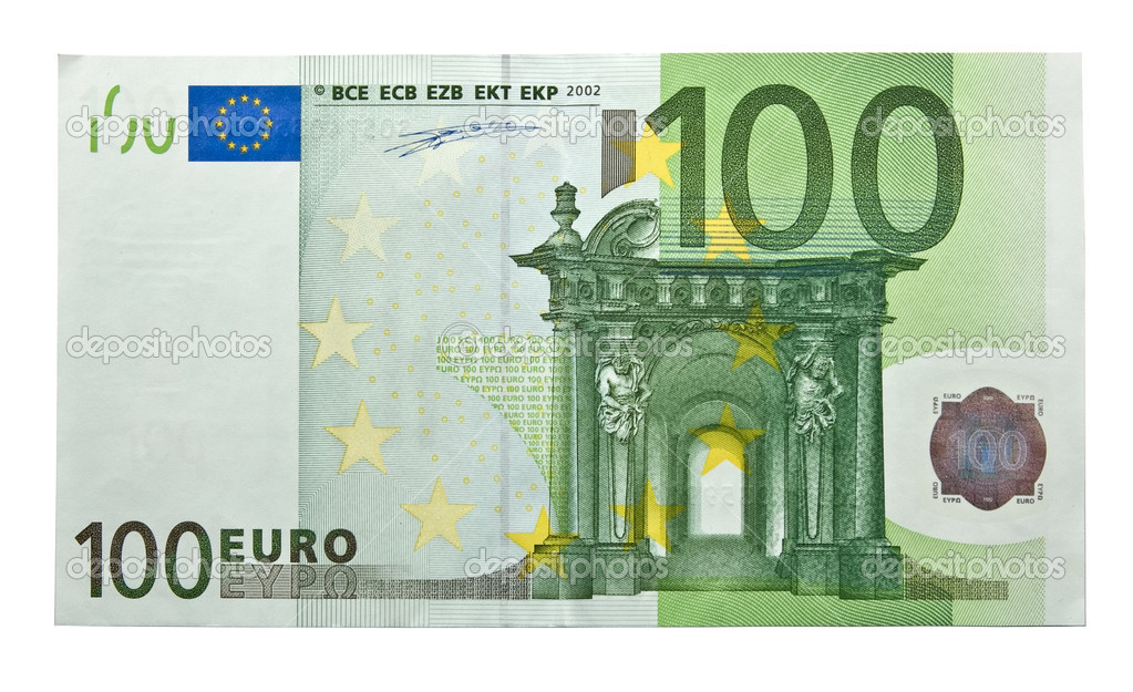 100 euro stock photo paulpaladin 1149181 for Canape a 100 euros