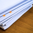 Stock Photo: Heap of documents