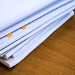 Heap of documents - Stock Photo