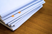 Heap of documents — Stock Photo