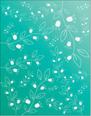 Floral background. Vector. — Stock Vector