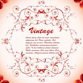 Old vintage background — Stock Vector