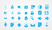 Big set of finance and blog icons. — Stock Vector