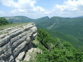 Crimean mountains — Stock Photo