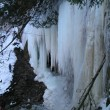 Frozen waterfall — Stock Photo #1477267