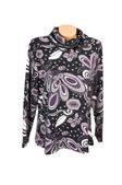Fashionable purple jacket on a white. — Stock Photo