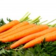 Carrots isolated on a whiteground. — Stock Photo