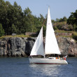 Stock Photo: Sailing vessel.