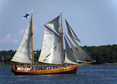 The Finnish sailing vessel. — Stock Photo