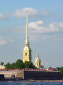 The Peter and Paul Fortress. — Stock Photo