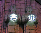 Light holders. — Stock Photo