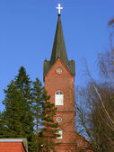 Lutheran church. — Stock Photo