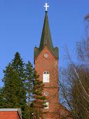 Kościół luterański. — Zdjęcie stockowe