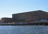 Stockholm, Royal palace. — Stock Photo
