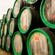 Wine casks - Stock Photo