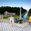 Fountains in St. Petersburg — Stock Photo #1239150