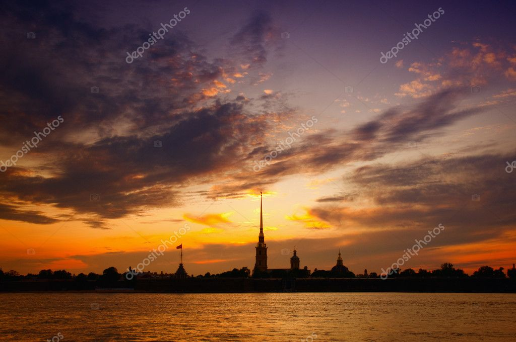 St. Petersburg, Russia, The Peter and Paul Cathedral. — Stock Photo #1259409
