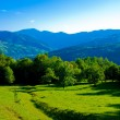 Carpathians in summertime of year - Stock Photo