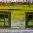Stock Photo: Windows of hut