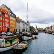 Сopenhagen nyhavn — Stock Photo