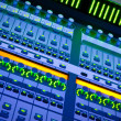 Professional audio mixer desk at he Conc - Stock Photo