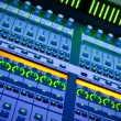 Professional audio mixer desk at he Conc — Stockfoto