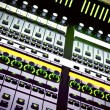Royalty-Free Stock Photo: Audio mixing console