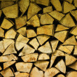 Heap of firewood — Stock Photo