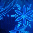Luminescent Snowflake — Stock Photo