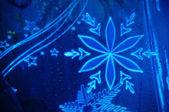 Fiocco di neve luminescente — Foto Stock