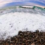 Beach shot fisheye — Stock Photo #1616255