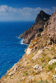 Mountains and the sea — Stock Photo