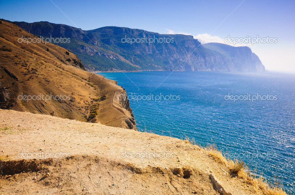 View of the Cliffs  Stock Photo #1615520