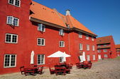 Kastellet kafe — Stock Photo