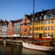 Copenhagen nyhavn — Stock Photo