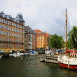 Stock Photo: Yachts in Copenhagen, Denmark