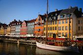 Kopenhag nyhavn — Stok fotoğraf