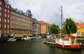 Yachts in Copenhagen, Denmark — Stock Photo