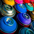 Paint cans — Stock Photo
