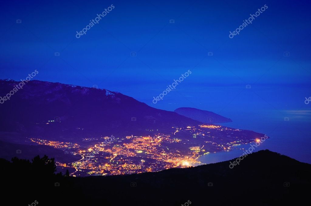 Mountainsi, Crimea, Ukraine, Yalta,  — Stock Photo #1933232