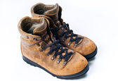 Used hiking boots — Stock Photo
