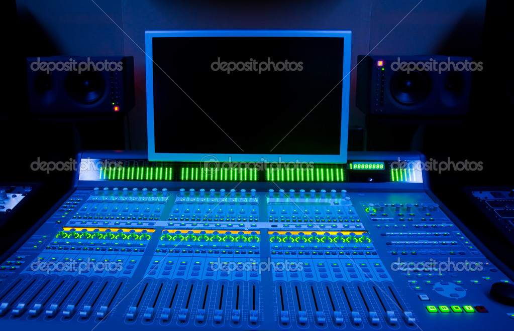 Audio mixer — Stock Photo #2233306