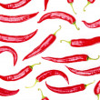 Background of the Red chili pepper - 